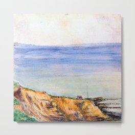 View of Swanage Bay Metal Print