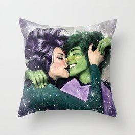teentitans Throw Pillow