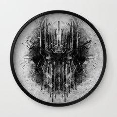 dark thoughts - sauron Wall Clock