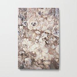 Iceland texture ii Metal Print