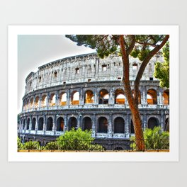Roman Coloseum Art Print