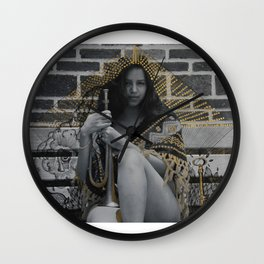 intervention 2 Wall Clock