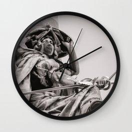 Parisian Guardian Wall Clock