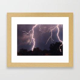 Nocturnal Emissions Framed Art Print