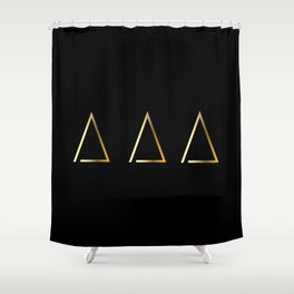 Gold Homes Shower Curtain