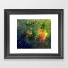 Galactic Snake in Infrared Milky Way Framed Art Print