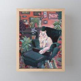 The Collector Framed Mini Art Print