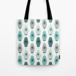 Mid Century Modern Pattern Tote Bag