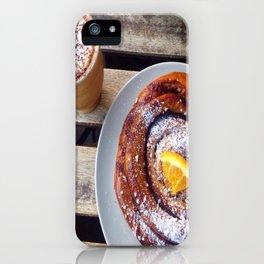 Swedish fika iPhone Case