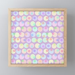 Pastel Abstracts 1 Framed Mini Art Print