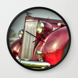 Packard Type 138 Vintage Saloon Car Wall Clock
