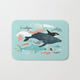 Under the Sea Menagerie Bath Mat