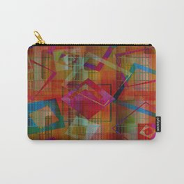 Topsy Turvy Squares Carry-All Pouch