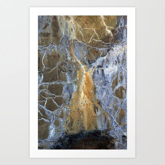 Fort Wall Abstract Art Print
