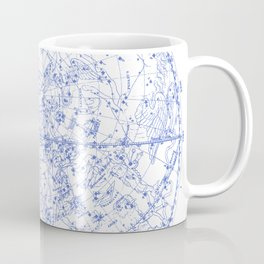 Vintage Stars Constellation Map, Astronomy - Astrology Cosmos, Universe Coffee Mug