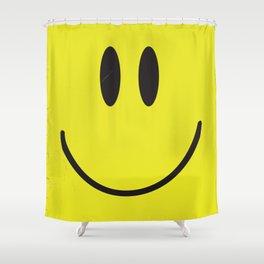 Acid house '91 vintage smiley face Shower Curtain