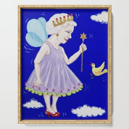 The Fairy Queen Serving Tray
