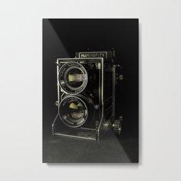 Mamiyaflex Metal Print
