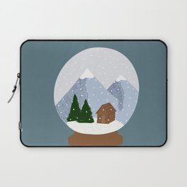 A Snow Covered World Laptop Sleeve