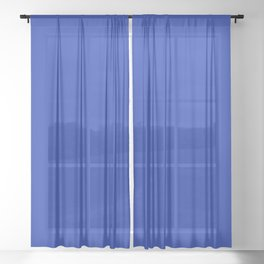 Egyptian Blue Sheer Curtain