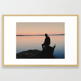 Sunset View Framed Art Print