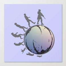 Space Evolution Canvas Print