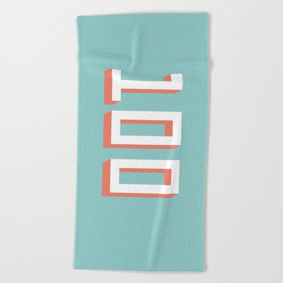 The 100 Beach Towel