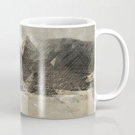 The pyramids - Egypt Coffee Mug