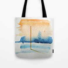 waxing crescent.two Tote Bag