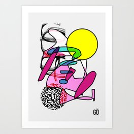 PÖP Art Print