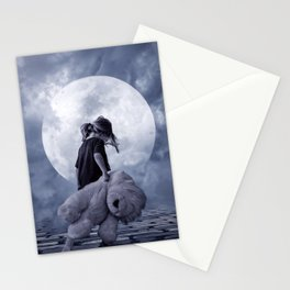 Moon 2 Stationery Cards
