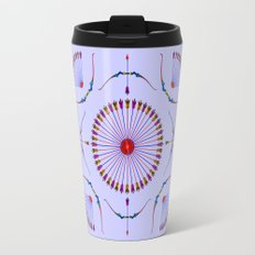 Bows and Arrows Design Travel Mug