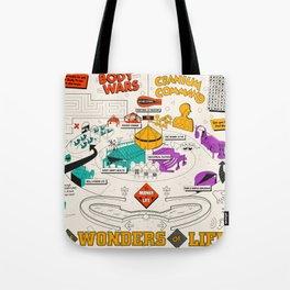 Wonders of Life Placemat Tote Bag