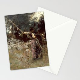 A Capriote by John Singer Sargent - Vintage Fine Art Oil Painting Stationery Cards
