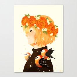 Bloom: Yurio Canvas Print