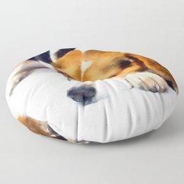 Beagle Bailey Floor Pillow