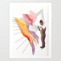 Girl Time No. 13 Art Print