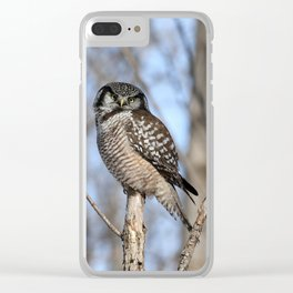 Spring in style Clear iPhone Case