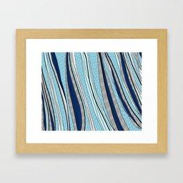Groovy Blues Framed Art Print