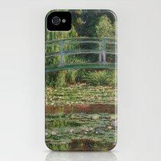 Claude Monet - The Japanese Footbridge iPhone (4, 4s) Slim Case