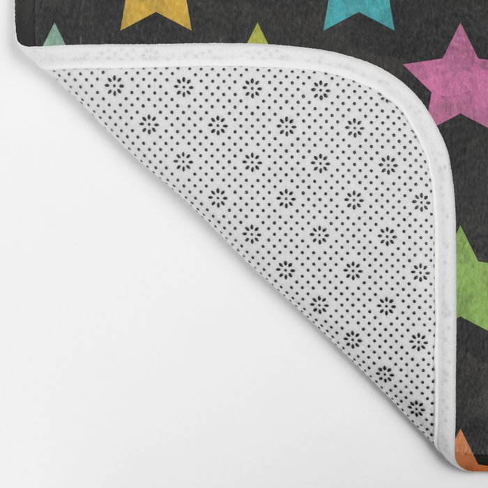 Colorful Star II Bath Mat