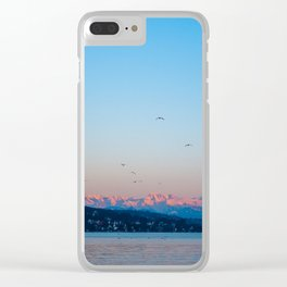 alpenglow Clear iPhone Case