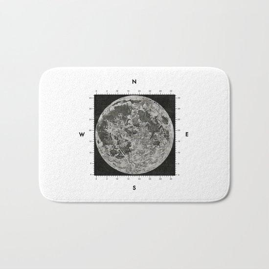 Moon Scale Bath Mat