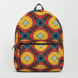 X and O Geometric Backpack