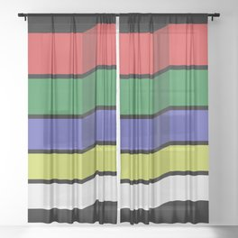 Implosion Sheer Curtain