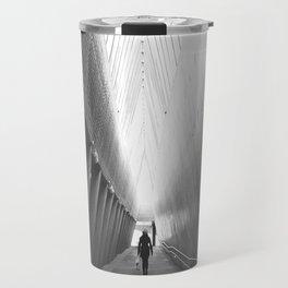 Tunnel of light Travel Mug