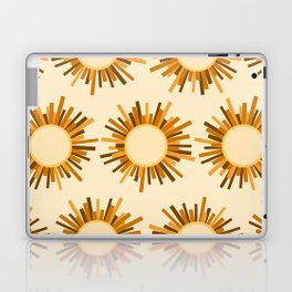 Art Deco Starburst Laptop & iPad Skin