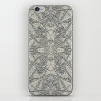 snowflake iPhone & iPod Skins featuring Snowflake  by Project M