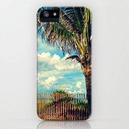 Beach Palm iPhone Case