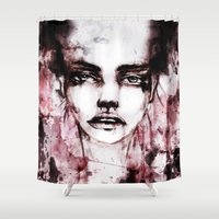 blur Shower Curtains featuring BLUR by Ismael Aguilar Bonet